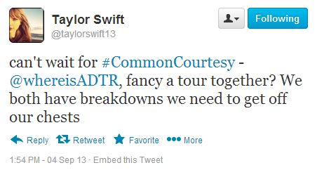 to offer ADTR a chance to  A Day To Remember Common Courtesy Tattoos